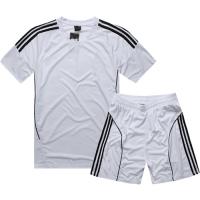 AD-503 Customize Team White Soccer Jersey Kit(Shirt+Short)
