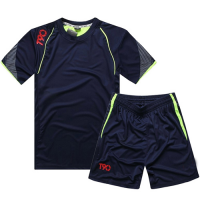 NK-505 Customize Team Navy Soccer Jersey Kit(Shirt+Short)