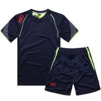 NK-505 Customize Team Navy Soccer Jersey Kit(Shirt+Short)