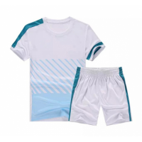 NK-509 Customize Team White Soccer Jersey Kit(Shirt+Short)