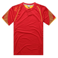 AD-503 Customize Team Red Soccer Jersey Shirt