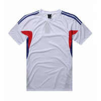 AD-501 Customize Team White Soccer Jersey Shirt