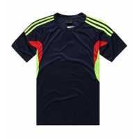 AD-501 Customize Team Navy Soccer Jersey Shirt
