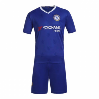 Chelsea Home Jersey Kit(Shirt+Shorts) 2016-2017 Without Brand Logo