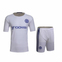 Chelsea Away White Jersey Kit(Shirt+Shorts) 2016-2017 Without Brand Logo