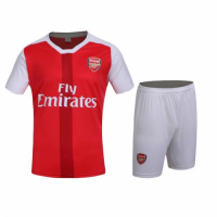 Arsenal Home Red Jersey Kit(Shirt+Shorts) 2016-2017 Without Brand Logo