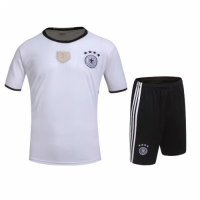 Germany Home White Jersey Kit(Shirt+Shorts) 2016 Without Brand Logo