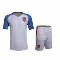USA Home White Jersey Kit(Shirt+Shorts) 2016 Without Brand Logo