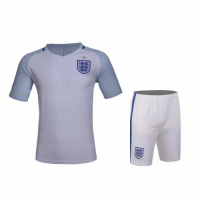 England Home White Jersey Kit(Shirt+Shorts) 2016 Without Brand Logo