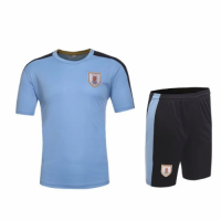 Uruguay Home Jersey Kit(Shirt+Shorts)2016 Without Brand Logo