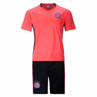 Bayren Munich Orange Training Kit(Shirt+Shorts) 2016-2017 Without Brand Logo