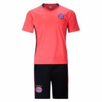 Bayren Munich Orange Training Kit(Shirt+Shorts) 2016-2017 Without Brand Logo