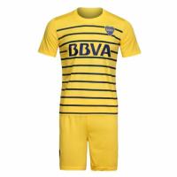 Boca Juniors Away Yellow Jersey Kit(Shirt+Shorts) 2016-2017 Without Brand Logo
