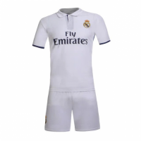 Real Madrid Home White Jersey Kit(Shirt+Shorts) 2016-2017 Without Brand Logo