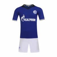 Schalke 04 Home Jersey Kit(Shirt+Shorts) 2016-2017 Without Brand Logo