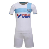 Marseille Home Jersey Kit(Shirt+Shorts) 2016-2017 Without Brand Logo