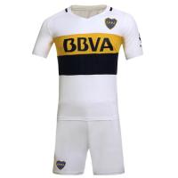 Boca Juniors Away White Jersey Kit(Without Logo) 2016-2017 Without Brand Logo