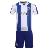 Porto Home Soccer Jersey Kit(Without Logo) 2016-2017 Without Brand Logo