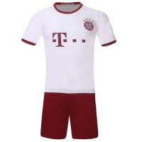 Bayren Munich Third Away White Jersey Kit(Shirt+Shorts) 2016-2017 Without Brand Logo