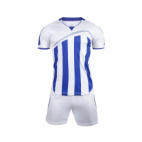 1603 Customize Team White Soccer Jersey Kit(Shirt+Short)