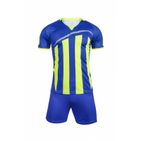1603 Customize Team Blue Soccer Jersey Kit(Shirt+Short)