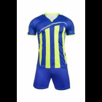 1603 Customize Team Blue Soccer Jersey Kit(Shirt+Short)