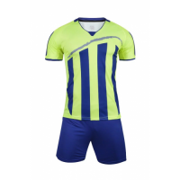 1603 Customize Team Green Soccer Jersey Kit(Shirt+Short)
