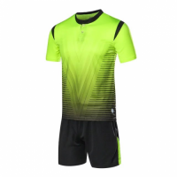 1604 Customize Team Green Soccer Jersey Kit(Shirt+Short)