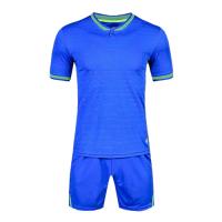 1605 Customize Team Blue Soccer Jersey Kit(Shirt+Short)