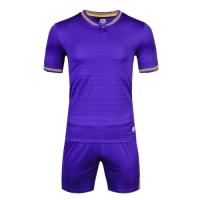 1605 Customize Team Purple Soccer Jersey Kit(Shirt+Short)