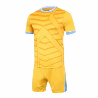 1612 Customize Team Orange Soccer Jersey Kit(Shirt+Short)