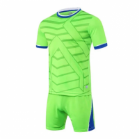 1612 Customize Team Green Soccer Jersey Kit(Shirt+Short)