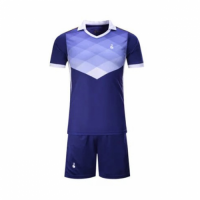 001 Customize Team Purple Soccer Jersey Kit(Shirt+Short)