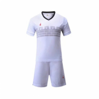 015 Customize Team White Soccer Jersey Kit(Shirt+Short)