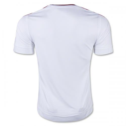73d963aa391 Manchester United Away White Jersey Kit(Shirt+Shorts) 2015-2016 ...