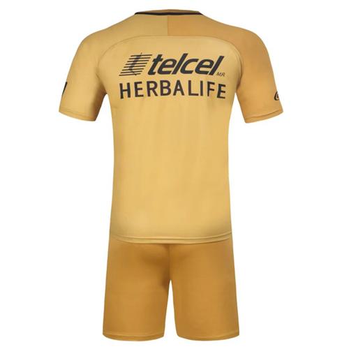 db1710f1e UNAM Pumas Home Golden Jersey Kit(Shirt+Shorts) 2016-2017 Without ...