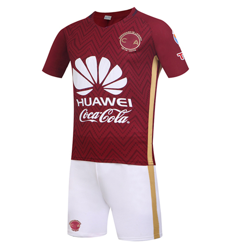 9d9938d77 Club America Away Red Jersey Kit(Shirt+Shorts) 2016-2017 Without ...