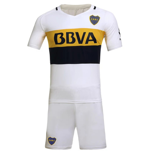 watch f1d95 a861a Boca Juniors Away White Jersey Kit(Without Logo) 2016-2017 ...