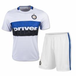 the best attitude 68bb3 4a76f Inter Milan Away White Jersey Kit(Shirt+Shorts) 2015-2016 ...