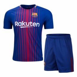 buy popular fff9d 5e33d 17-18 Barcelona Home Jersey Kit(Without Logo) | Barcelona ...